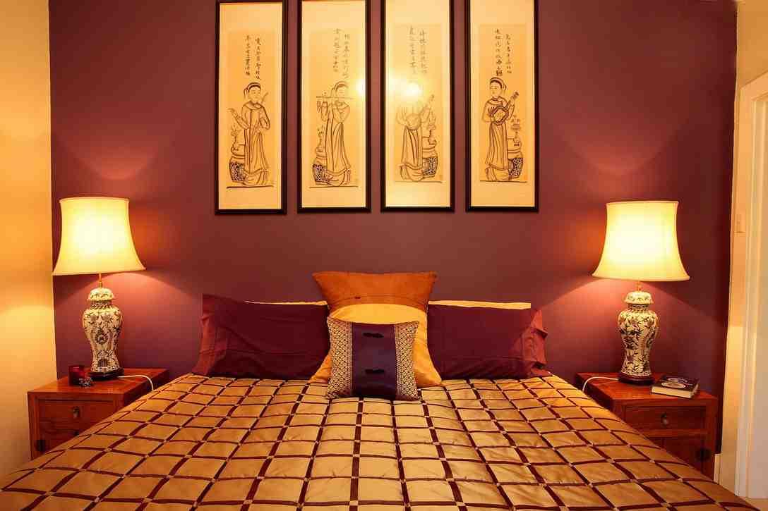 Asian Inspired Bedroom Decor Ideas
