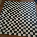 Checkered Area Rug