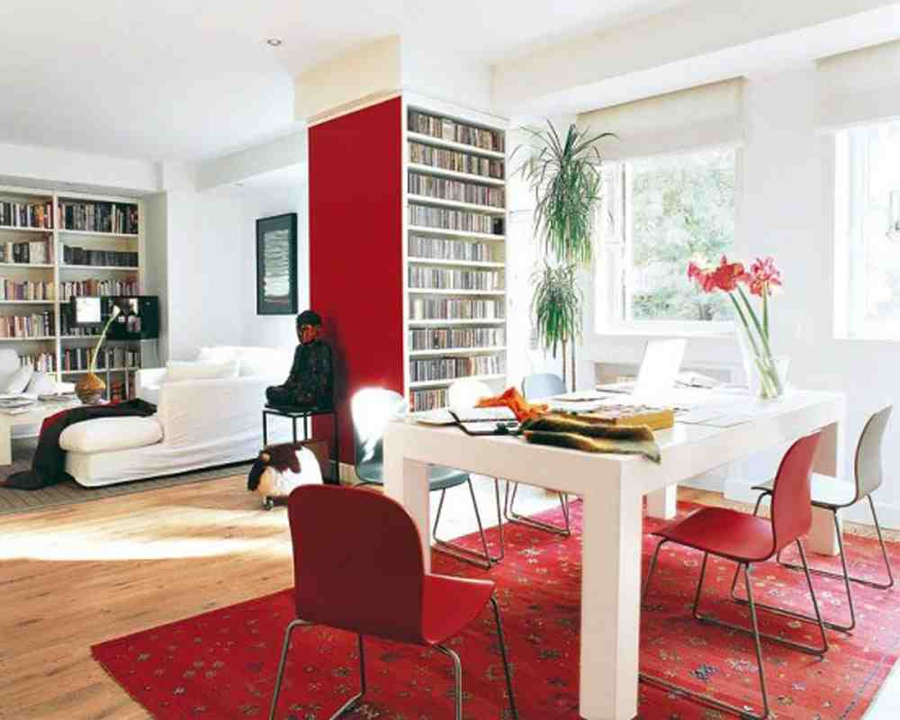 Decorating with Red Accents