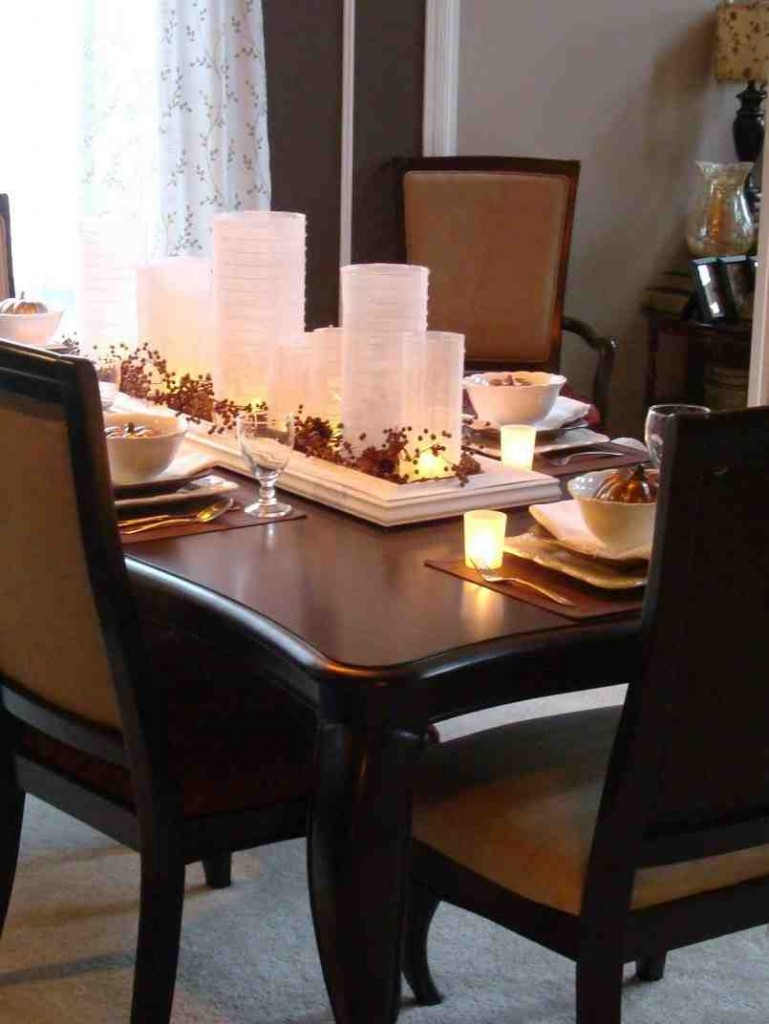 Decoration for Dining Room Table