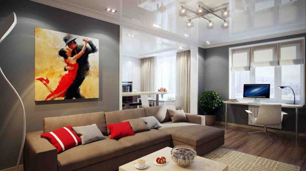 Ideas for Decorating Living Room Walls