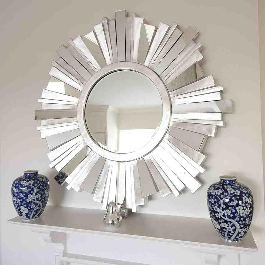 Large Starburst Mirror