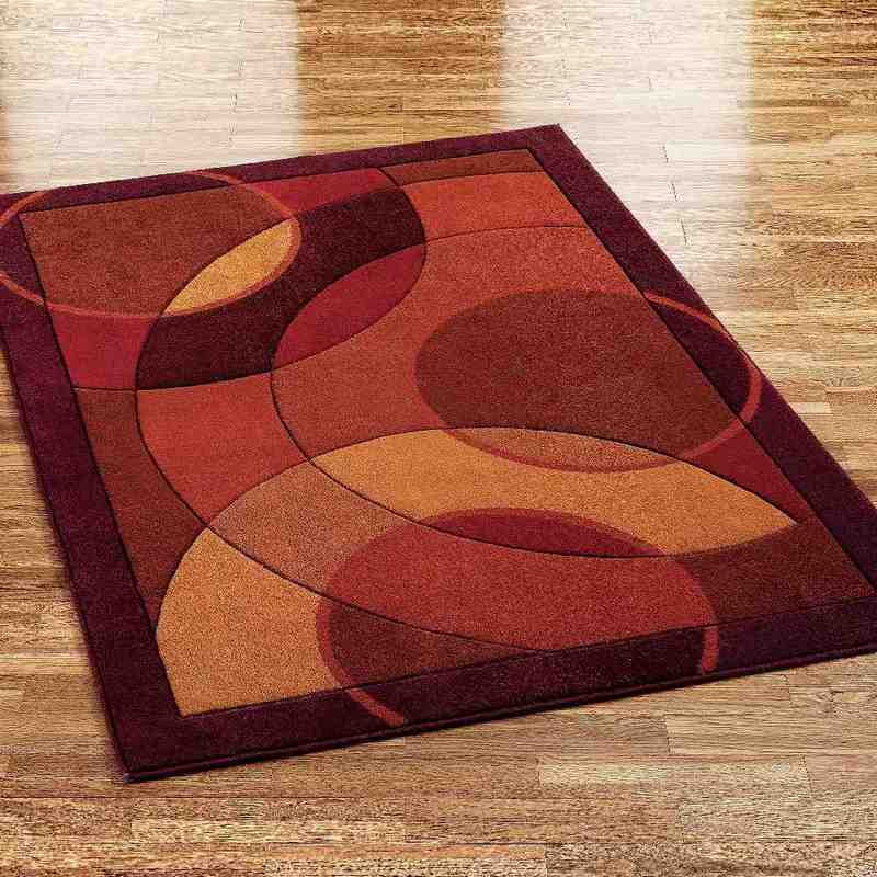 Red and Brown Area Rugs
