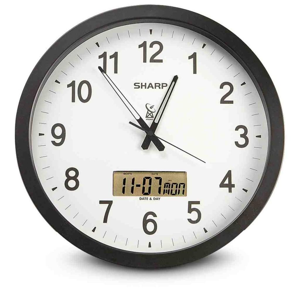 Sharp Atomic Wall Clock