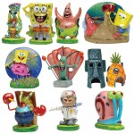 Spongebob Aquarium Decorating Kit