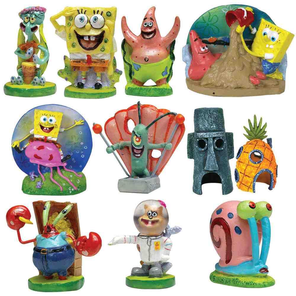 Spongebob Aquarium Decorating Kit