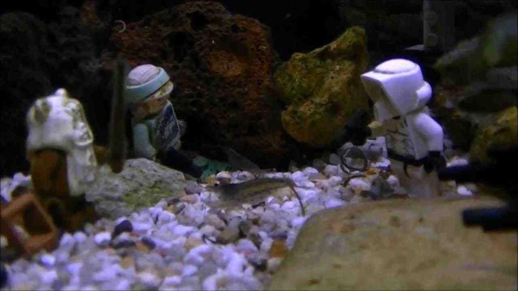 Star Wars Aquarium Decorations