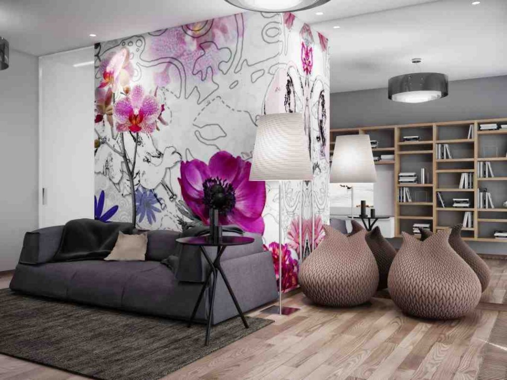 Wall Mural Ideas for Living Room
