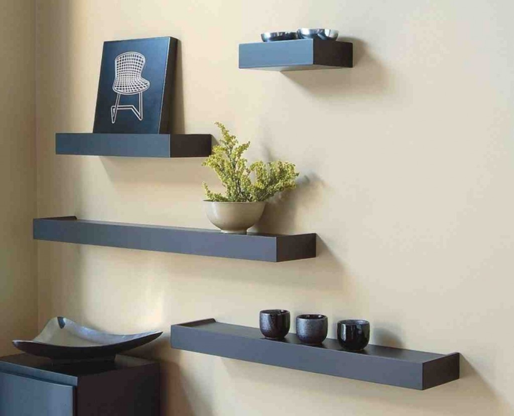 Wall Shelves Ideas Living Room