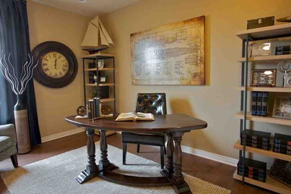 Work Office Decorating Ideas for Men