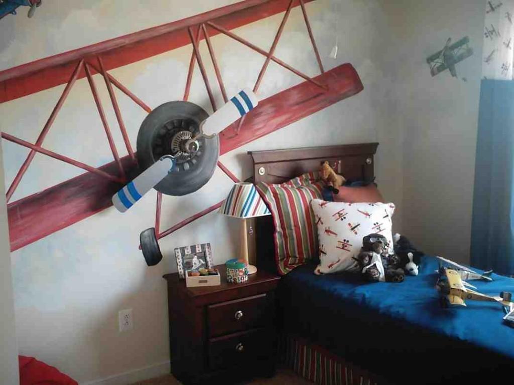 Airplane Decor for Boys Room