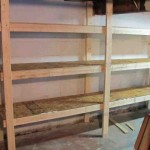 Basement Storage Shelves Plans