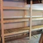 Basement Storage Shelves Plans