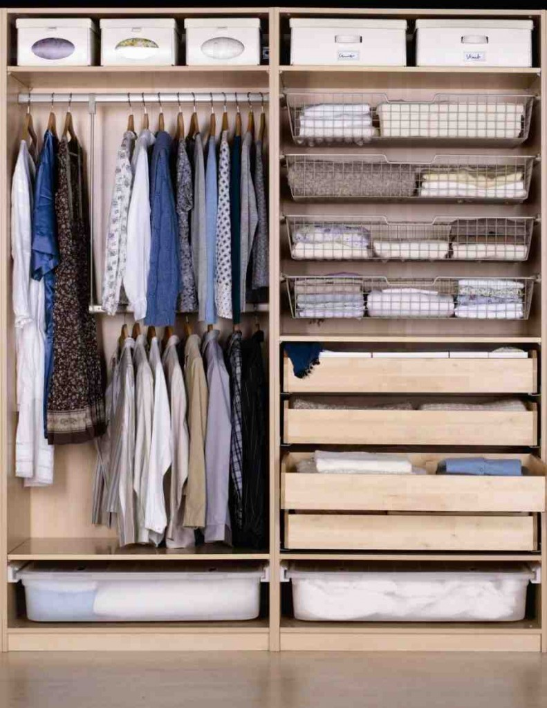 Bedroom Closet Shelving