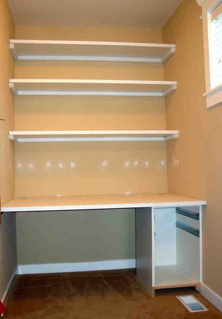 Build Closet Shelves