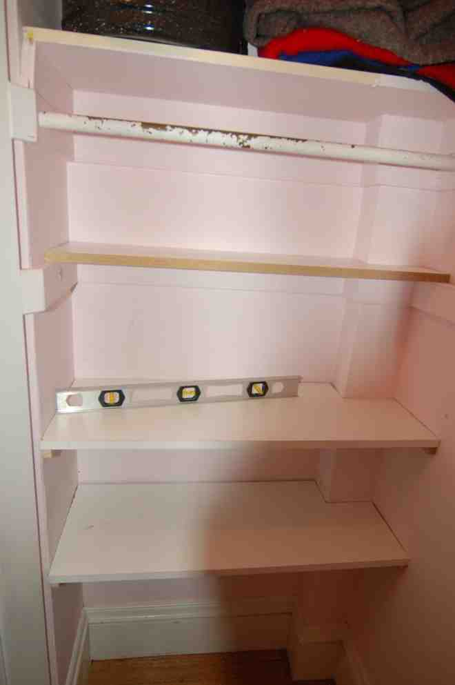 Building Closet Shelves
