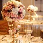 Candelabra Flower Arrangements