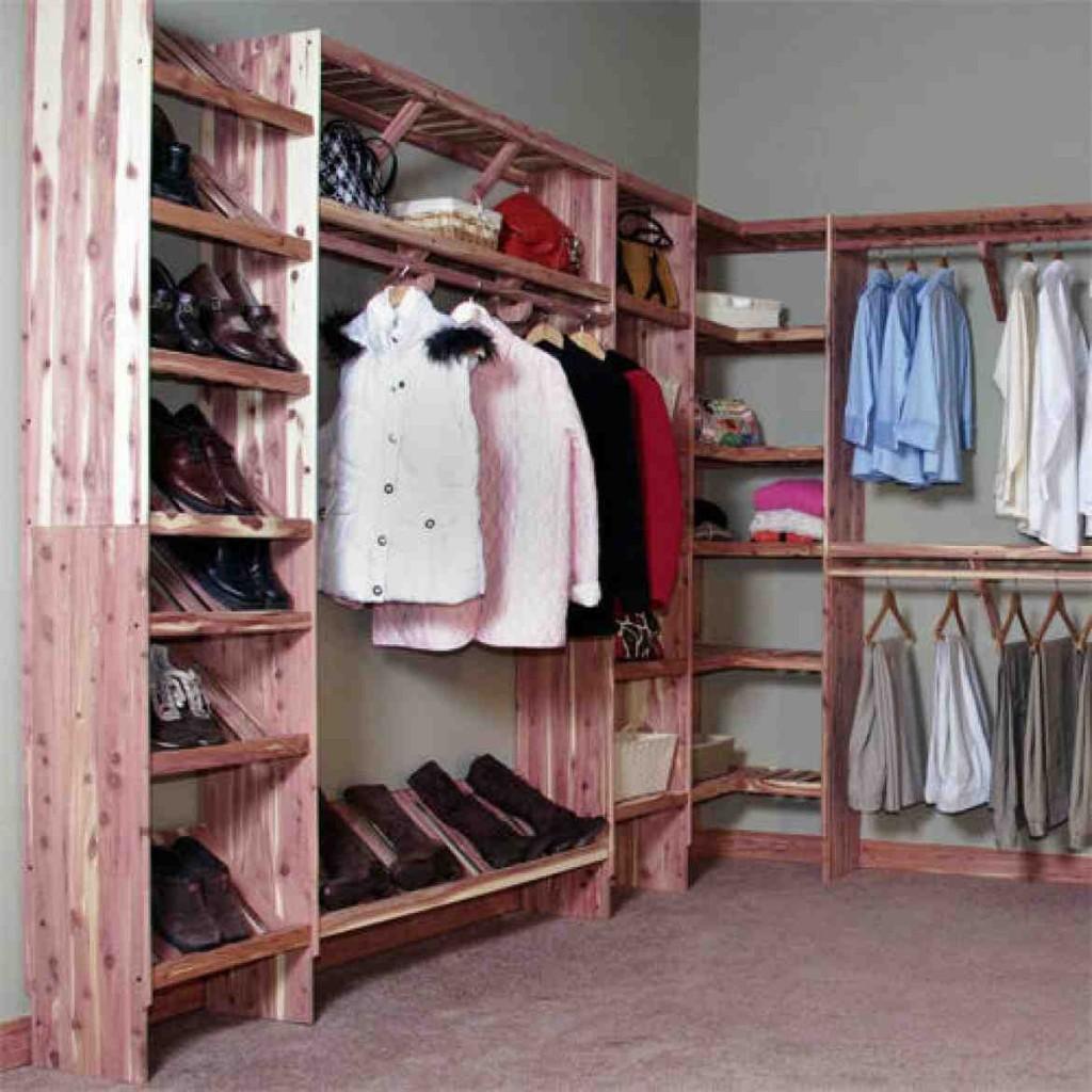 Cedar Closet Shelves