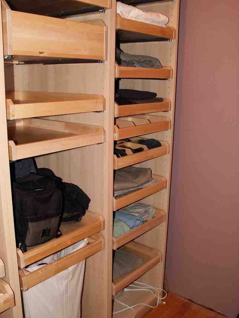 Closet Pull Out Shelves Decor Ideasdecor Ideas