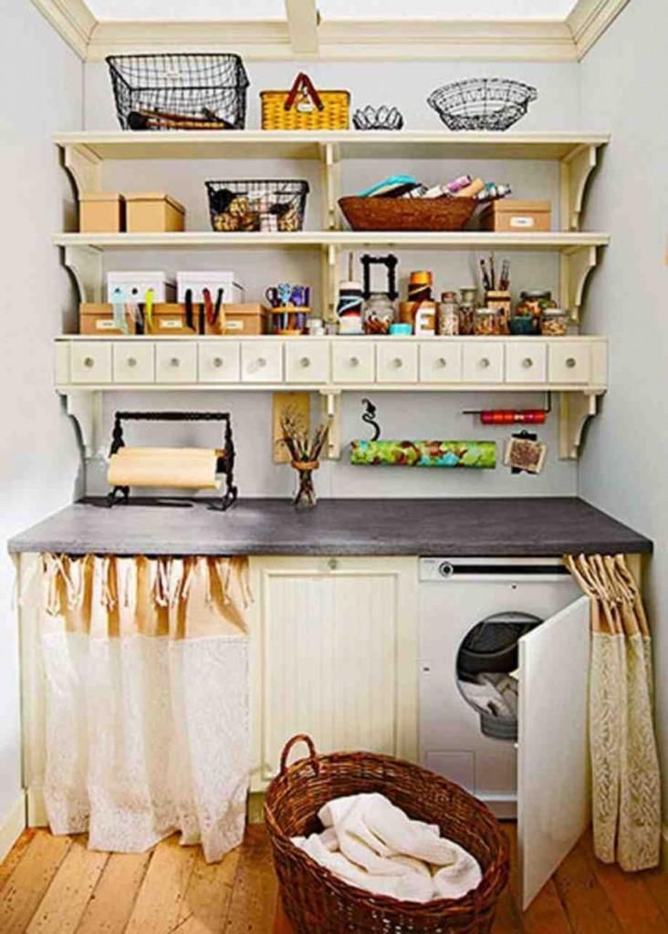 Cute Laundry Room Decor