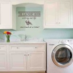 Decorating Laundry Room