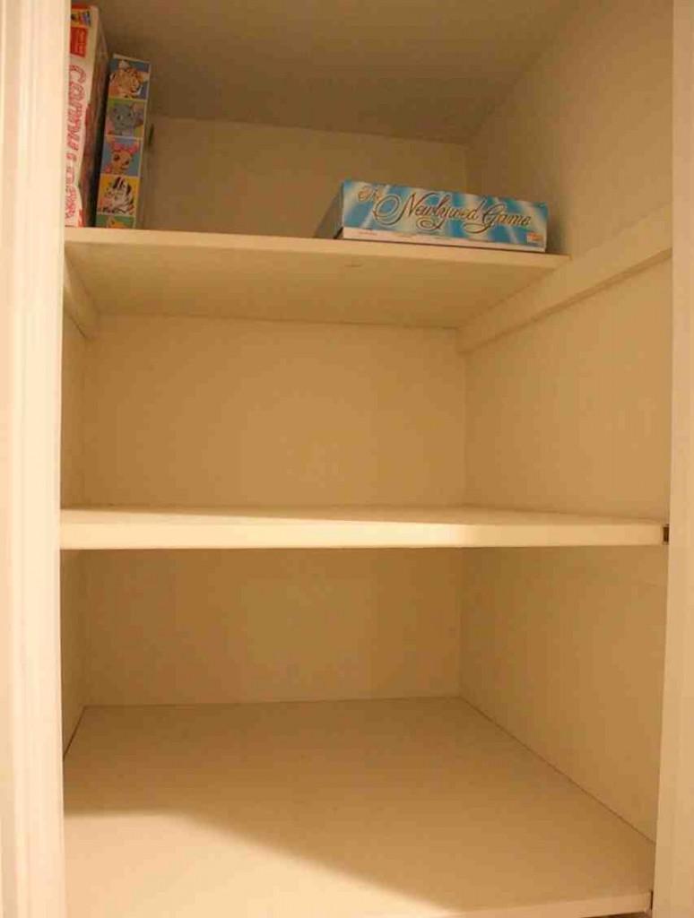 Deep Closet Shelves