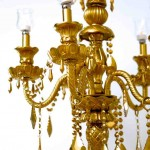 Gold Candelabra Rental