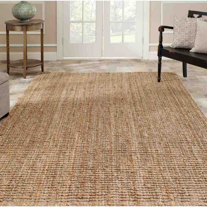 Jute and Chenille Area Rug