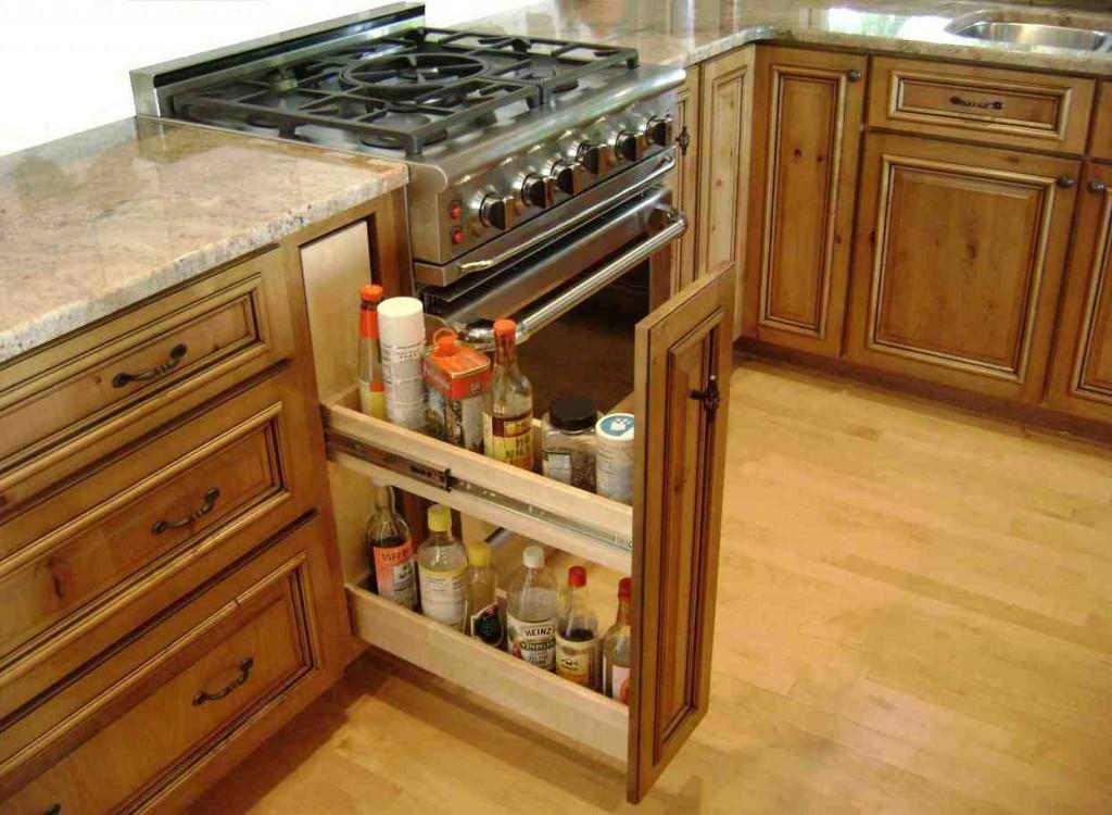 Kitchen Cabinet Storage Shelves