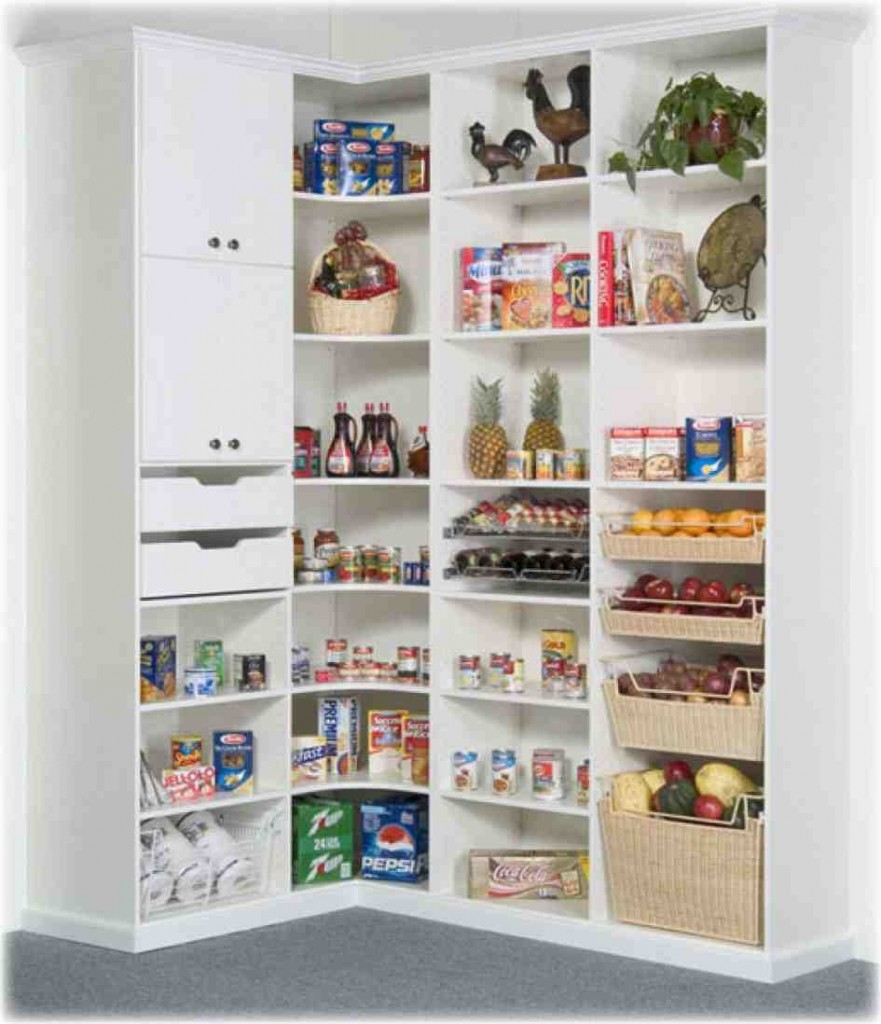 Kitchen Storage Shelves