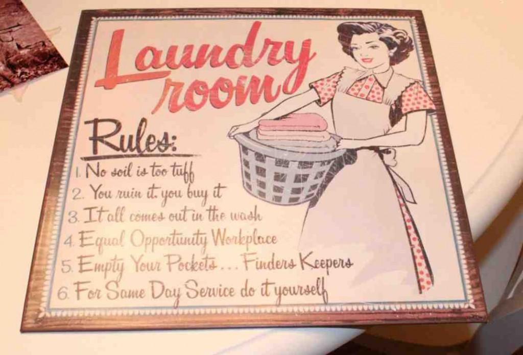 Laundry Room Accessories Decor