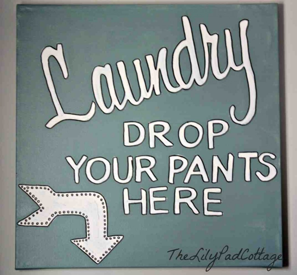 Laundry Room Signs Decor