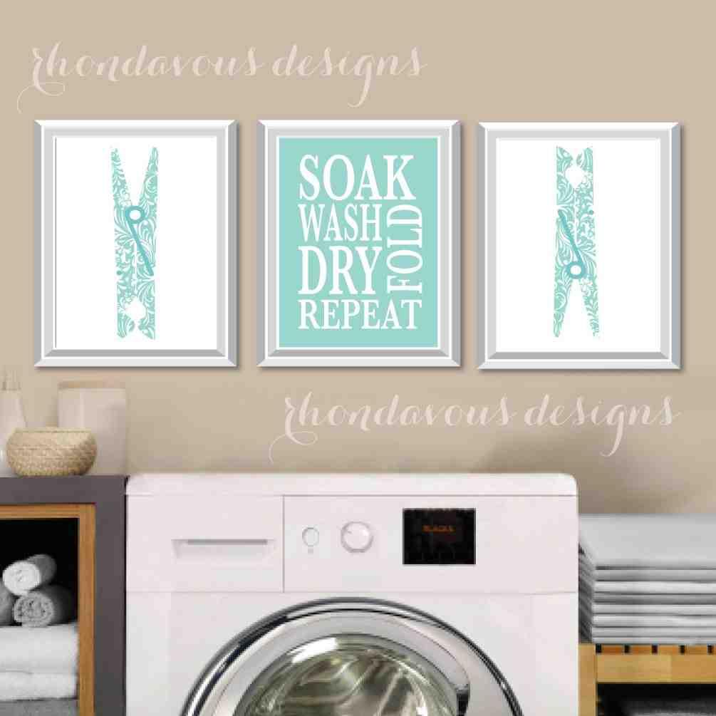 Laundry Room Wall Art Decor