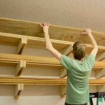 Lumber Storage Shelves