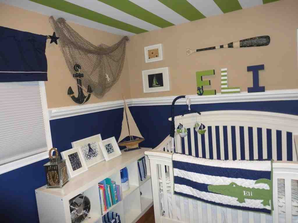 Nautical Decor for Baby Room