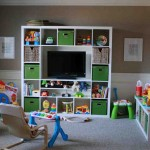 Playroom Storage Shelves