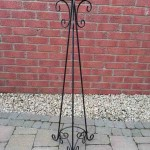 Tall Black Candelabra