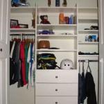 White Closet Shelving