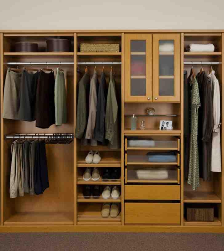 Wood Closet Shelves