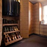 Wood Closet Shelving Units
