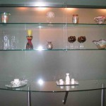 Custom Tempered Glass Shelves