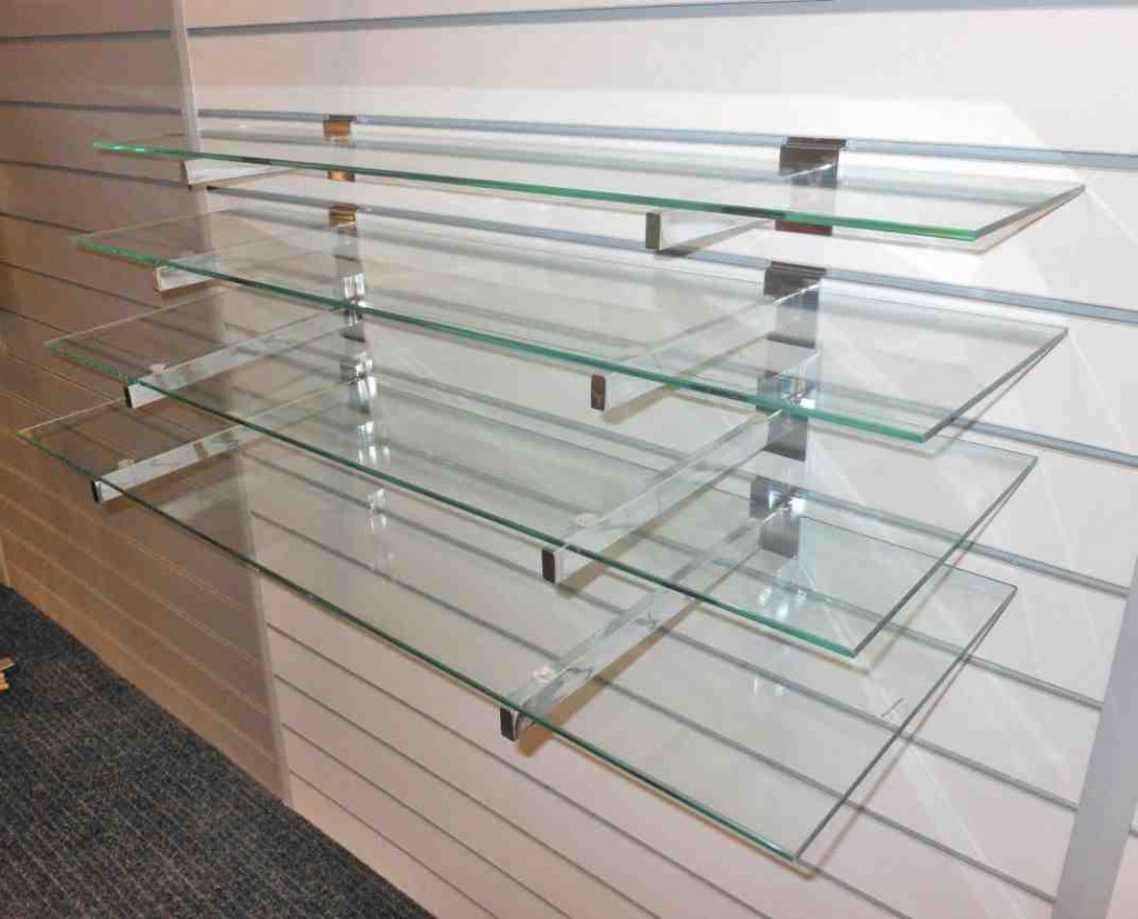 Diy Glass Shelves