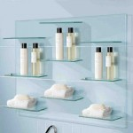 Glass Bathroom Shelving