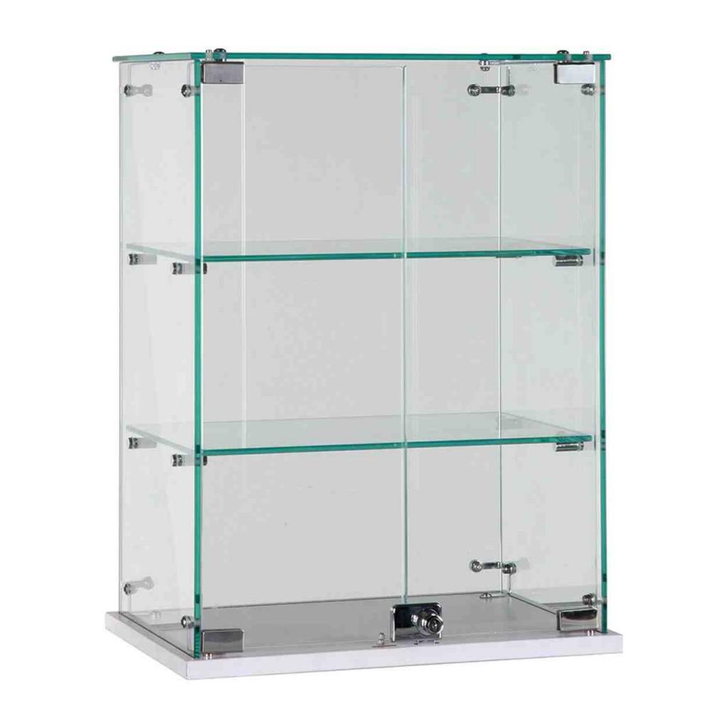 Glass Retail Shelving