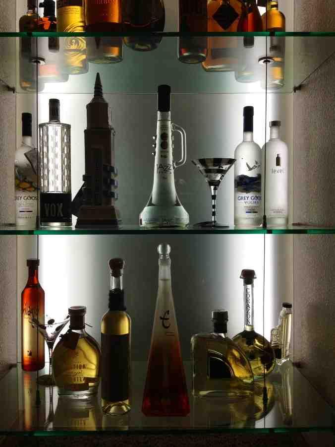 Glass Shelves for Bar