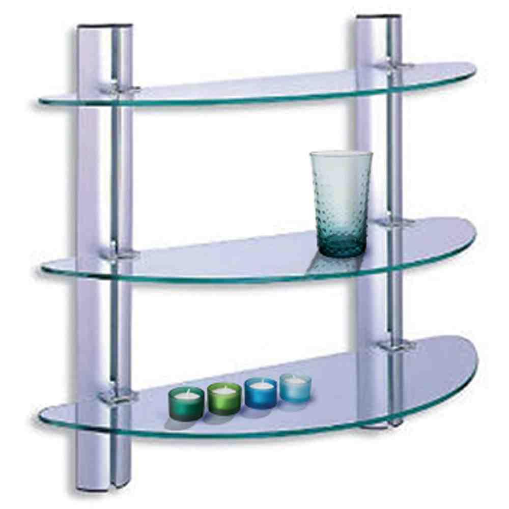 Glass Shelves for Bathroom