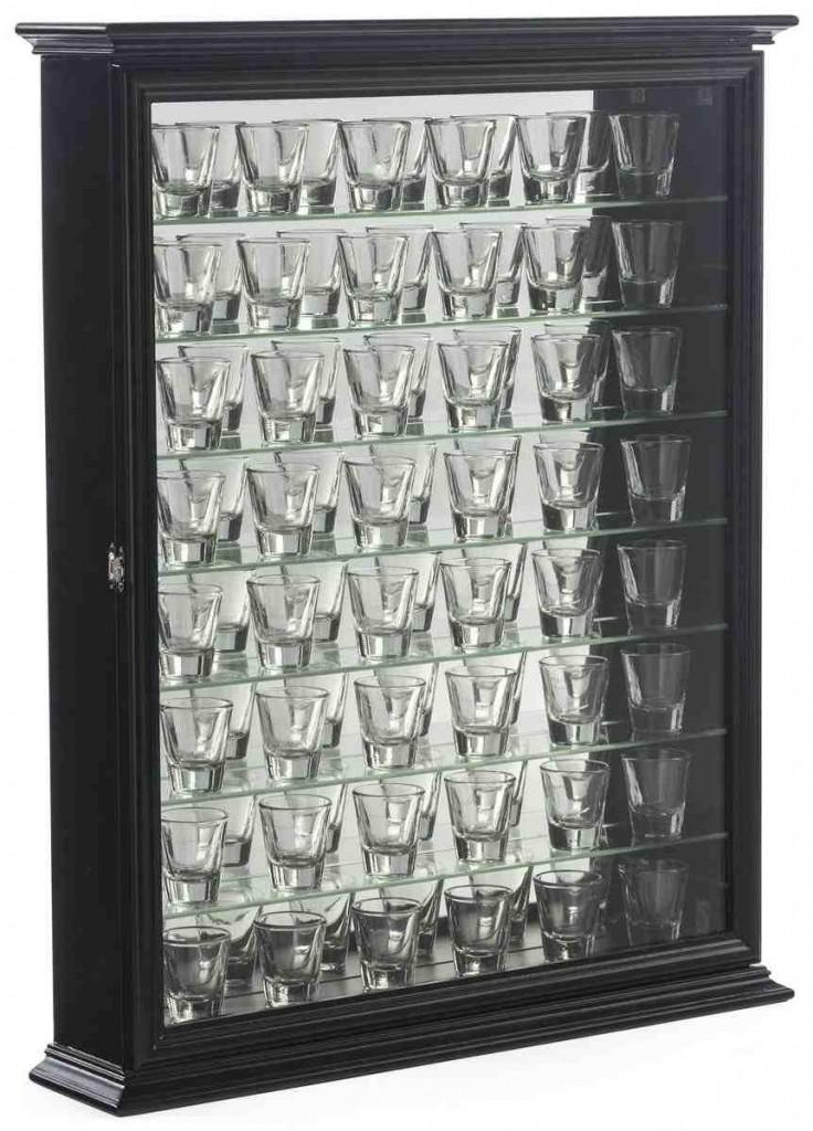 Shot Glass Shelves