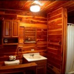Log Cabin Bathroom Decor