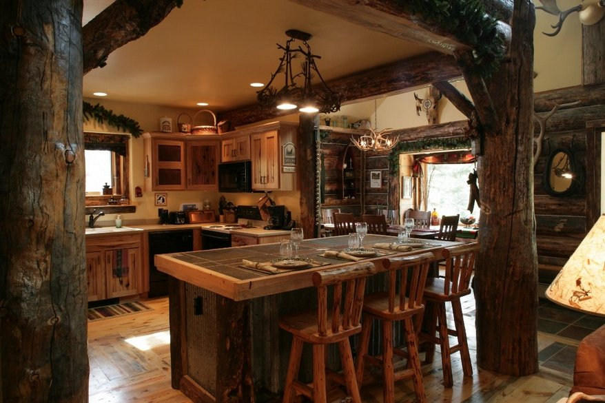 Log Cabin Decor Cheap