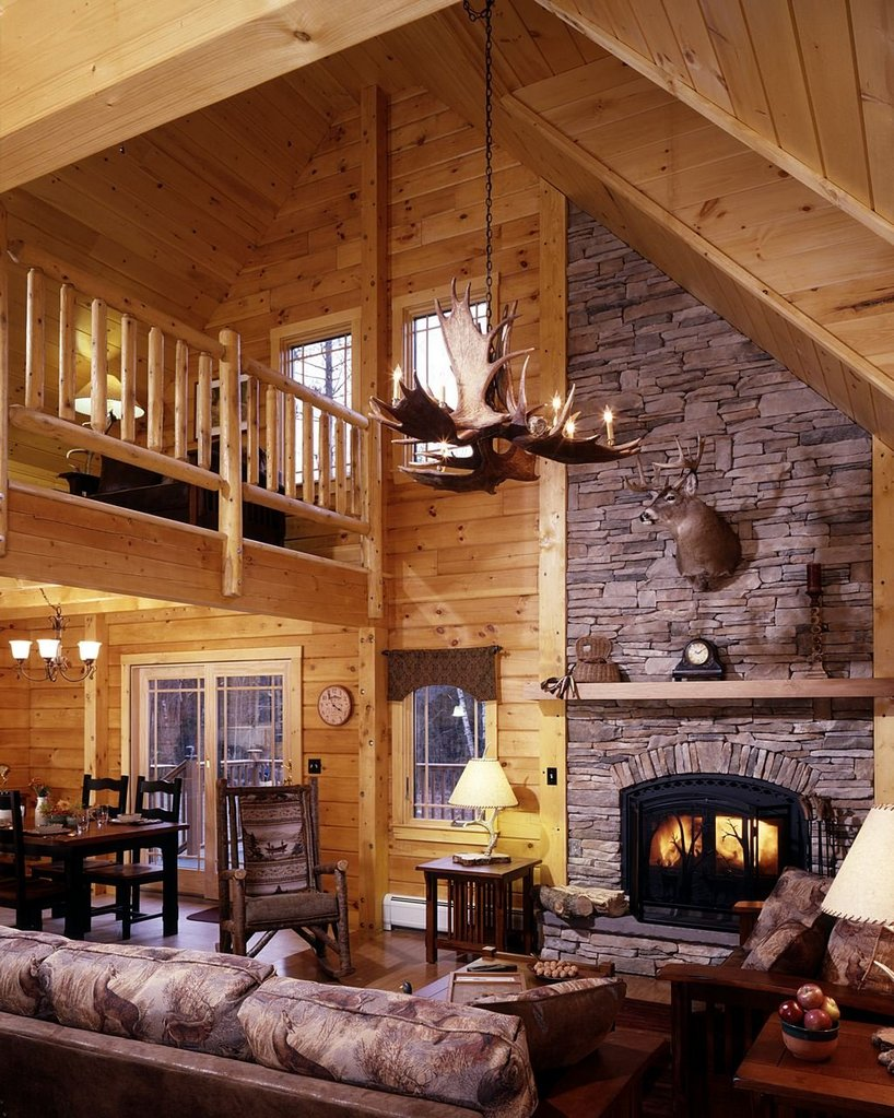 Log Cabin Interior Decorating